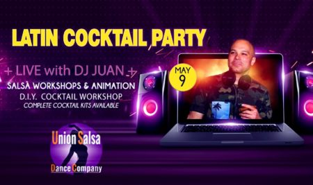 Online Salsa Party vol Latin entertainment